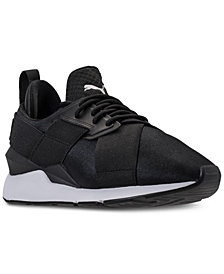 Puma Women's Muse Satin EP Casual Sneakers from Finish Line