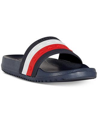 eca0ec199 Tommy Hilfiger Remy Stardust Slide Sandals