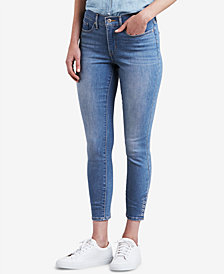 Levi's® 311 Snap Ankle Skinny Jeans