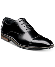 Stacy Adams Men's Barris Cap Toe Leather Oxfords