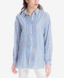 Max Studio London Striped Tunic, Created for Macy's