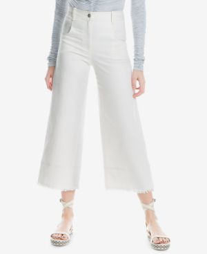 Max Studio London Frayed Wide-Leg Jeans, Created for Macy's 5954620