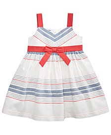 Blueberi Boulevard Striped Sundress, Baby Girls
