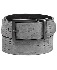Kenneth Reaction Men's Camo Reversible Belt