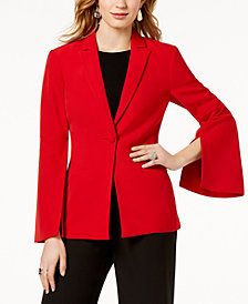 I.N.C. Vented Bell-Sleeve Blazer, Created for Macy's