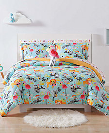 Laura Hart Kids Party Animals Full/Queen 3-Pc. Comforter Set