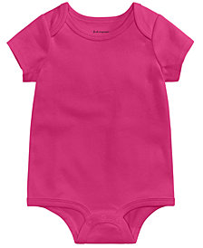 First Impressions Cotton Bodysuit, Baby Girls or Baby Boys, Created for Macy's