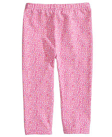 First Impressions Baby Girls Graphic-Print Leggings, Created for Macy's