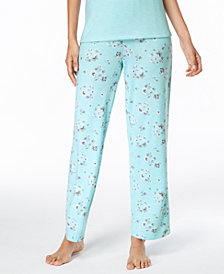 Charter Club Printed Pajama Pants, Created for Macy's