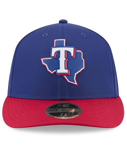 New Era Texas Rangers Spring Training Pro Light Low Profile 59Fifty Fitted  Cap - Sports Fan Shop By Lids - Men - Macy s 1edda87401ce