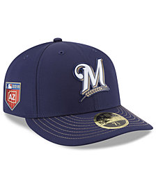New Era Milwaukee Brewers Spring Training Pro Light Low Profile 59Fifty Fitted Cap