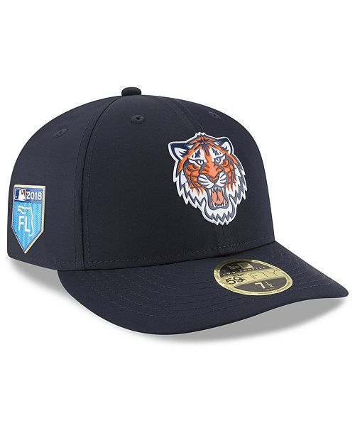 ... New Era Detroit Tigers Spring Training Pro Light Low Profile 59Fifty  Fitted Cap ... 0c14f6115cc