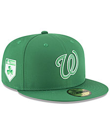 New Era Washington Nationals St. Patty's Day Pro Light 59Fifty Fitted Cap