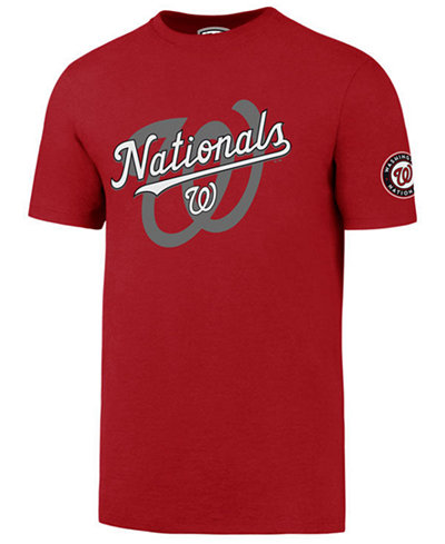 '47 Brand Men's Washington Nationals On-Deck Rival T-Shirt