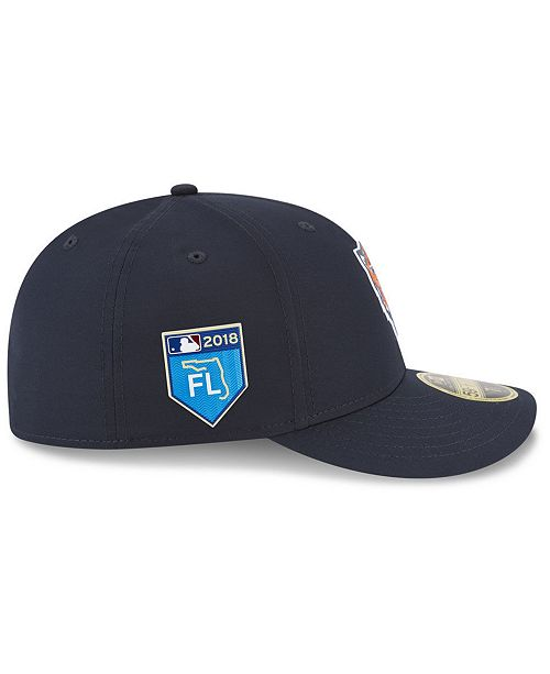 sports shoes 8139d cd73c ... New Era Detroit Tigers Spring Training Pro Light Low Profile 59Fifty  Fitted Cap ...