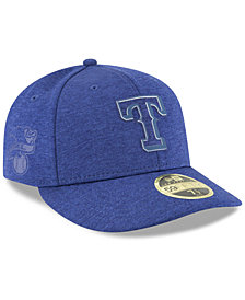 New Era Texas Rangers Clubhouse Low Crown 59Fifty Fitted Cap