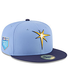 New Era Tampa Bay Rays Spring Training Pro Light 59Fifty Fitted Cap