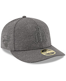 New Era Seattle Mariners Clubhouse Grey Low Profile 59FIFTY Fitted Cap