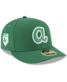 New Era Atlanta Braves St. Patty's Day Pro Light Low Crown 59Fifty Fitted Cap