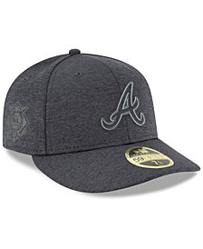 New Era Atlanta Braves Clubhouse Low Crown 59Fifty Fitted Cap