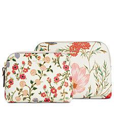 kate spade new york Cameron Street Blossom Briley Cosmetic Bag Set