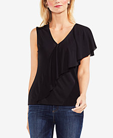 Vince Camuto Ruffled Top