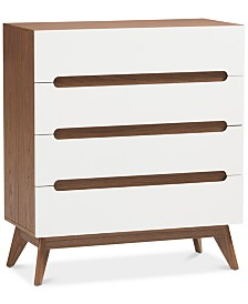 Calypso 4-Drawer Chest, Quick Ship