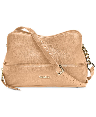 Calvin Klein Marie Leather Mini Crossbody