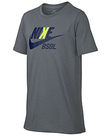 Nike Baseball-Print T-Shirt, Big Boys