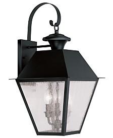 Livex Mansfield 3-Light Lantern
