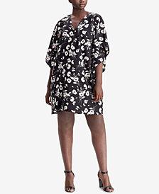 Lauren Ralph Lauren Plus Size Floral-Print Shift Dress
