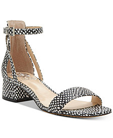Vince Camuto Shetana Block-Heel Dress Sandals
