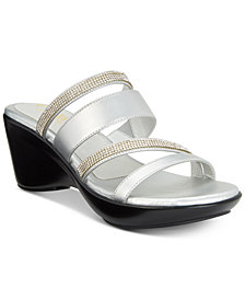 Callisto Viera Strappy Platform Wedge Sandals, Created for Macy's