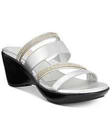 Callisto Viera Strappy Platform Wedge Sandals, Created for Macy's