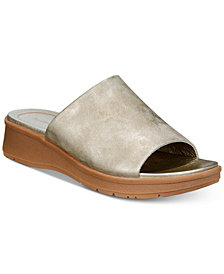 Bare Traps Rebecca Slip-On Wedge Sandals