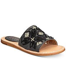 Lucca Lane Valia Slip-On Flat Sandals