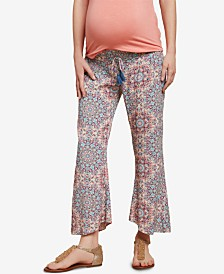 Jessica Simpson Maternity Smocked Wide-Leg Pants