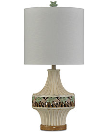 StyleCraft Tonga Cream Table Lamp