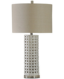 Stylecraft Basket Weave Table Lamp