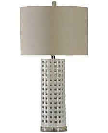 Stylecraft Basket Weave Table Lamp