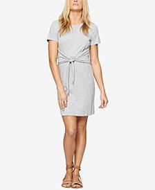 Sanctuary Juno Cotton Tie-Waist T-Shirt Dress