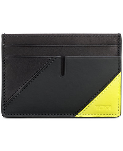 Tumi Men's Leather Card Case