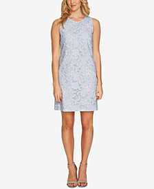 CeCe Embroidered Lace Dress