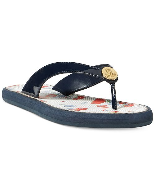 dca57db6ac9 Lauren Ralph Lauren Raia Flip Flops   Reviews - Sandals   Flip Flops ...