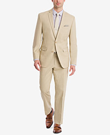 Bar III Slim-Fit Tan Stretch Suit Separates, Created for Macy's