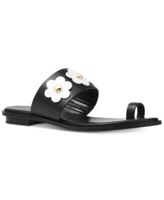 MICHAEL Michael Kors Sonya Flat Sandals Womens Shoes