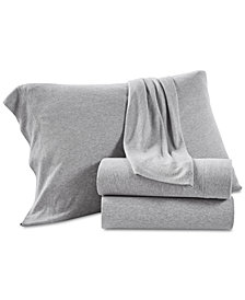 Lucky Brand Jersey Set of 2 King Pillowcases, Created for Macy's