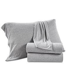 Lucky Brand Jersey 3-Pc. Twin Sheet Set, Created for Macy's
