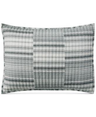 Broken Stripe Standard Sham, Created for Macy's