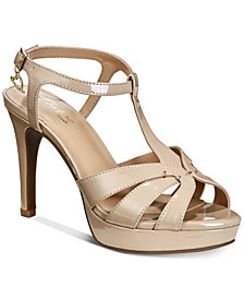 Thalia Sodi Velda Platform Dress Sandals, Created For Macy's